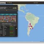 Antenna, aplicación de AIR para escuchar emisoras de radio de todo el mundo