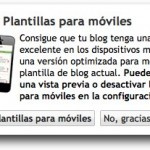 Diseño para dispositivos móviles en Blogger in Draft