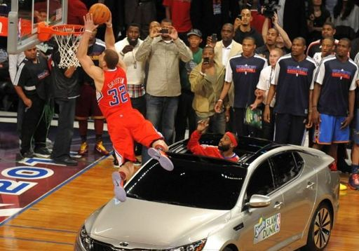 Competencia de Clavadas NBA All Stars 2011