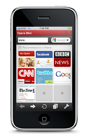 Opera Mini aprobado por Apple